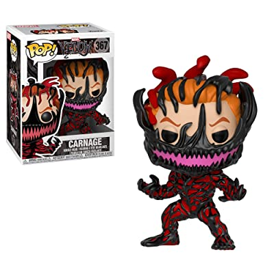 Funko Pop Marvel: Venom - Carnage Cletus Kasady Collectible Figure, Multicolor: Toys & Games [5Bkhe0800116]