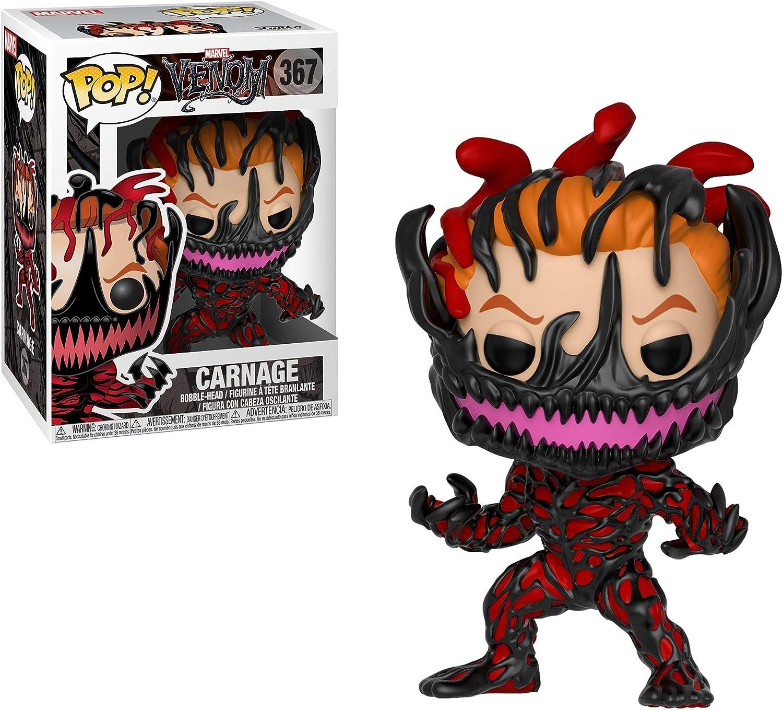 Funko Pop Venom Eddie Captain America Hulk Carnage Iron Man Figure Vinyl Toys