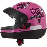 Pro Tork Capacete Sport Moto For Girls 56 Rosa