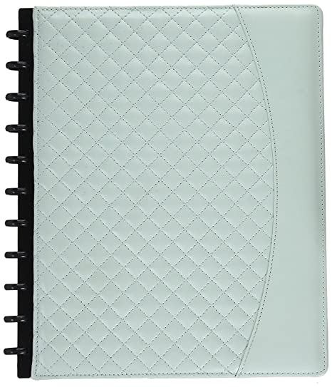 "Staples Arc System Customizable Quilted Pu Leather Notebook System, Assorted, 6 1/2"" X 8 1/2"", Each (50062) (Mint) by Staples"