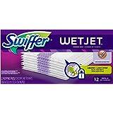Swiffer WetJet Hardwood Floor Spray Mop Pad Refill Original 12 Count (Pack of 8)