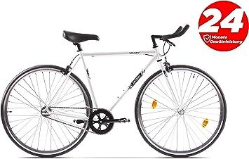P-Bike - Bicicleta de Ciudad, 2 Marchas, 28 Pulgadas, diseño Retro: Amazon.es: Deportes y aire libre
