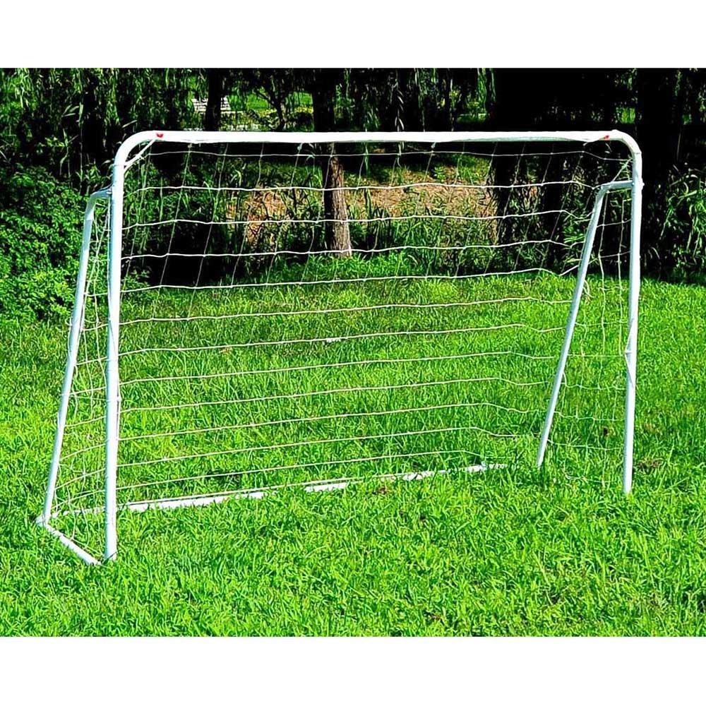 Soccer goal 12 ' x 6 ' Football with Netとストラップ、アンカーボールトレーニングセット B073ZC1CBT