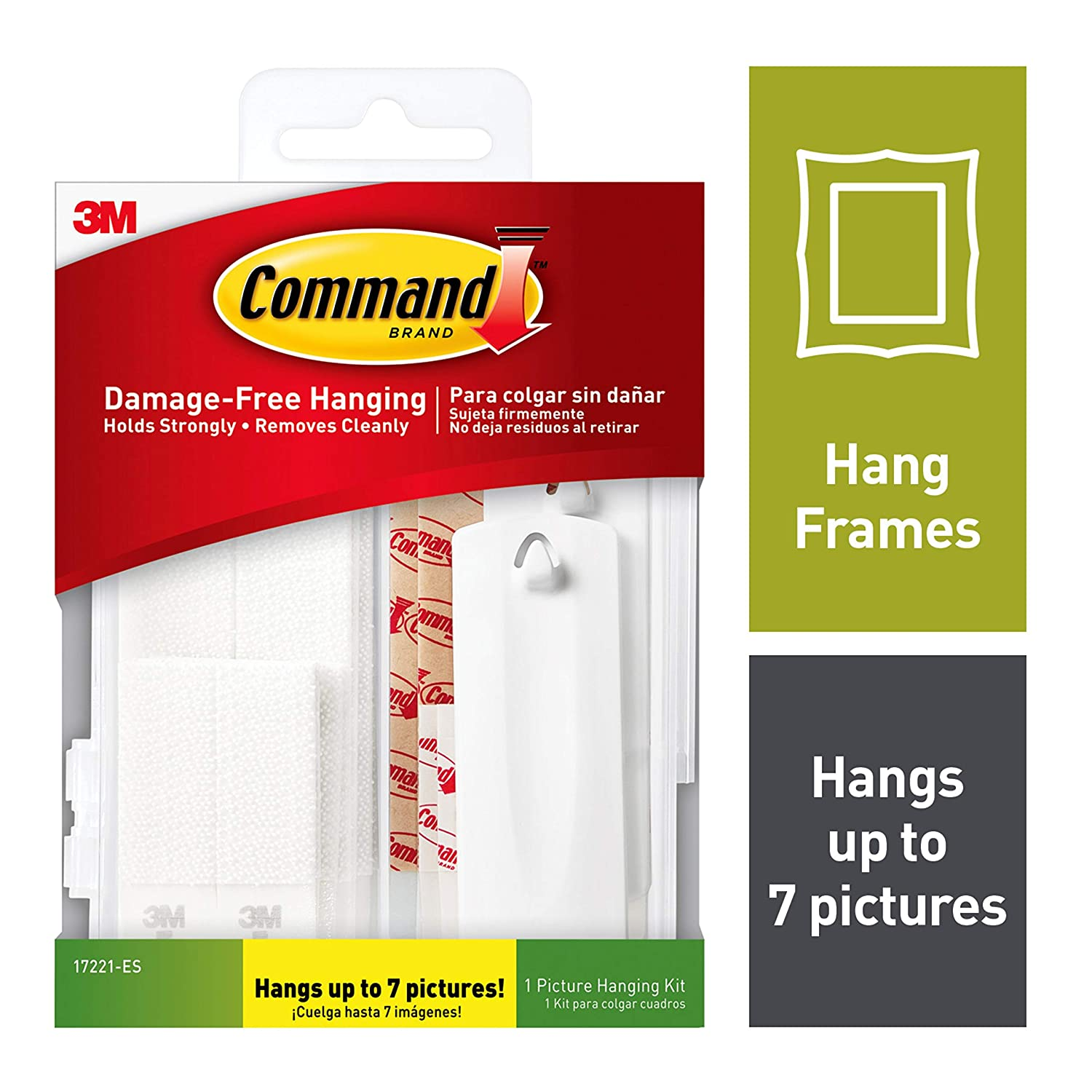 Command Picture Hanging Kit, Indoor Use (17221-ES)