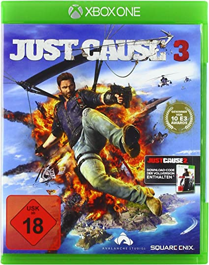 Square Enix Just Cause 3, Xbox One Básico Xbox One Inglés vídeo ...