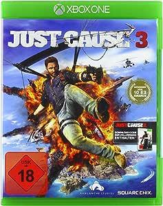 Square Enix Just Cause 3, Xbox One Básico Xbox One Inglés vídeo - Juego (Xbox One, Xbox One, Acción / Aventura, M (Maduro), Soporte físico): Amazon.es: Videojuegos