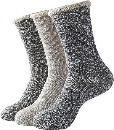 Beauttable 3 Men Thick Cotton Socks