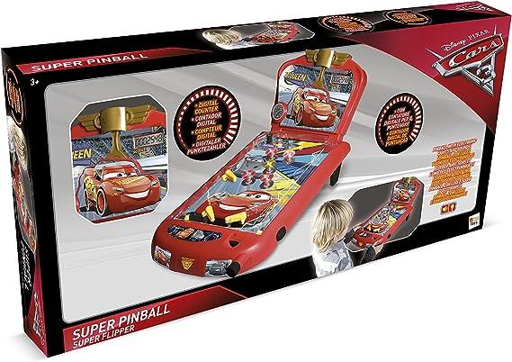 IMC Toys- Cars Súper Pinball Luces y Sonido, 60 x 28 cm (Propio ...