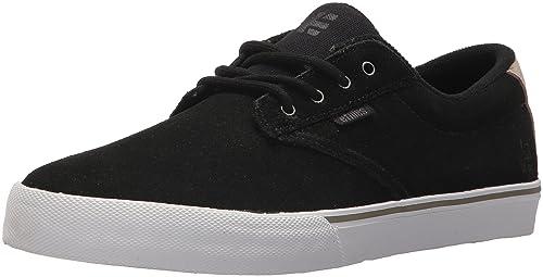 Etnies Jameson Vulc, Chaussures de Skateboard Homme, Noir (989-Black/Tan/Red 989), 45.5 EU