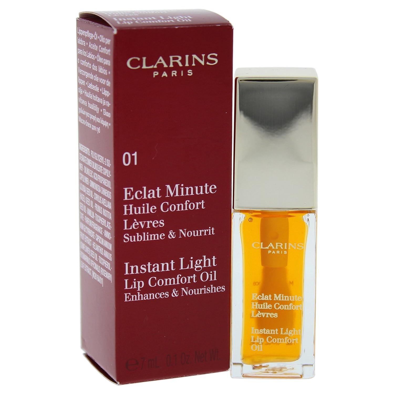Clarins Instant Light Lip Comfort Oil - 01 Honey 0.1 Oz