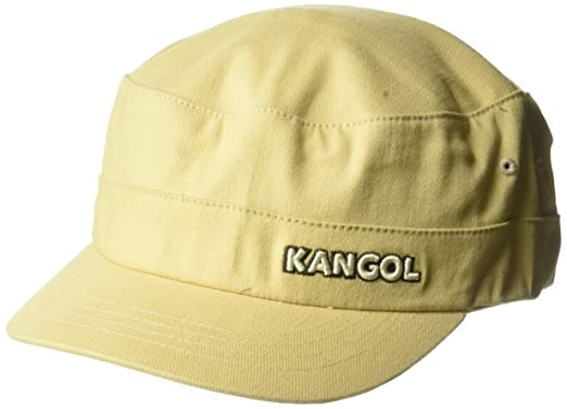 ea9315ef9 Kangol Unisex-Adult's Cotton Twill Army Cap, Beige, XXL at Amazon ...