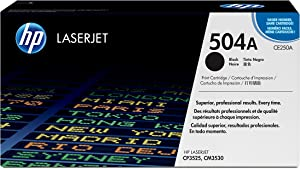 HP 504A | CE250A | Toner Cartridge | Black, 1 Size