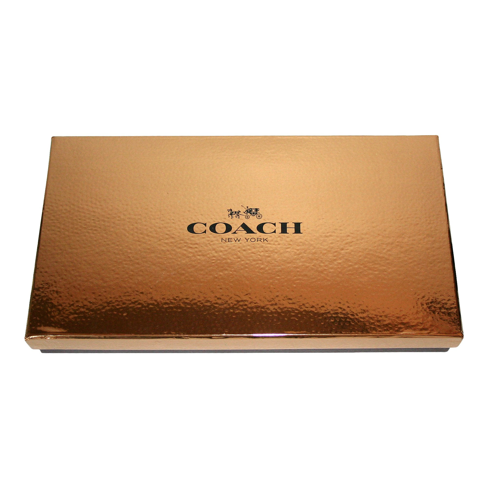 Coach F66073 Bifold Leather Dark Mahogany Wallet & Trigger Snap Key Gift Set by Coach (Image #2)