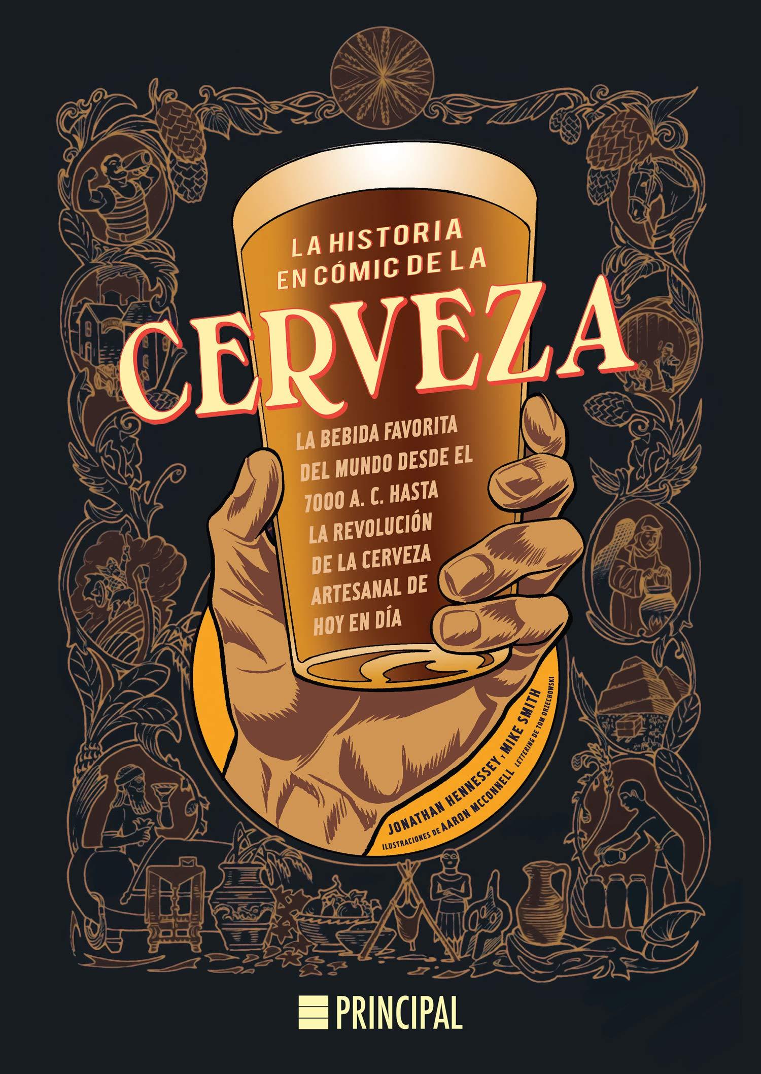 La historia en cómic de la cerveza Principal Gráfica: Amazon ...
