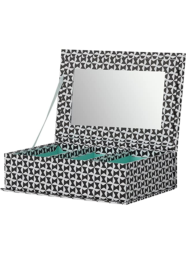 en soldes 79d4c 9060e HEMA boîte à bijoux - 22,5 x 15 x 4,5 cm - carton - noir ...