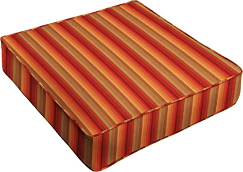Deal of the week: Humble and Haute Sunbrella Red Stripe Indoor/Outdoor Deep Seating Cushion