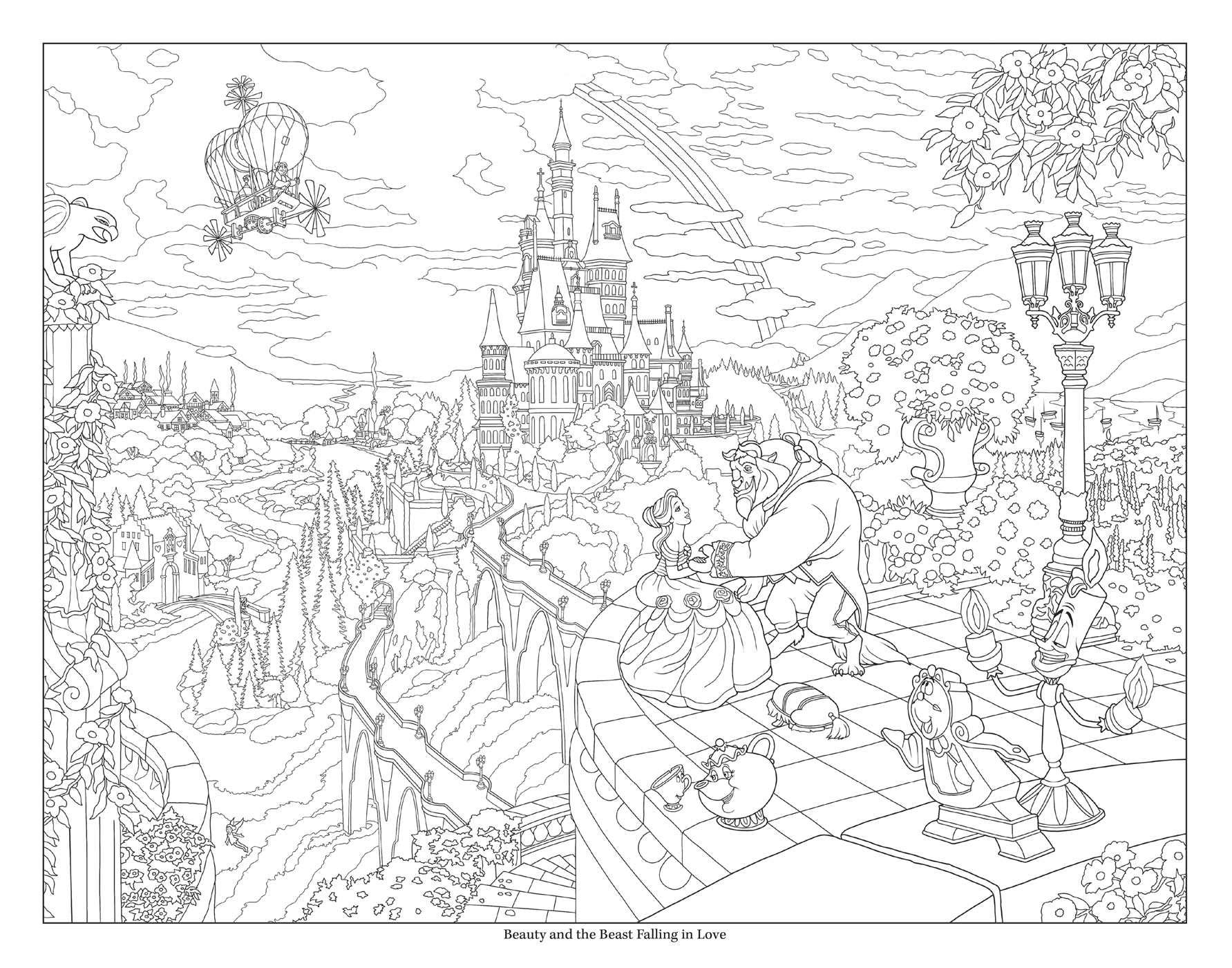 Disney Dreams Collection Thomas Kinkade Studios Disney Princess Coloring Poster Amazon De Kinkade Thomas Fremdsprachige Bucher