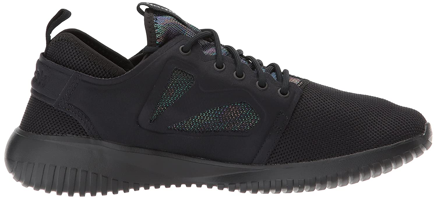 Reebok Women's Sneaker Skycush Evolution Lux Fashion Sneaker Women's B071DJM83P 7 B(M) US|Black 5e5260