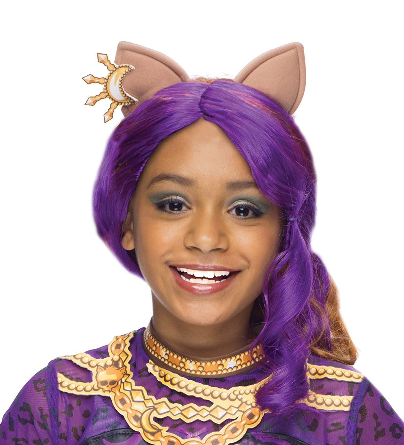 amazoncom rubies monster high clawdeen wolf child costume wig toys games - Clawdeen Wolf Halloween Costume