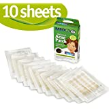 MEDca Acne Pimple Master Patch Absorbing Cover 24 Count Three Sizes 10 Sheets