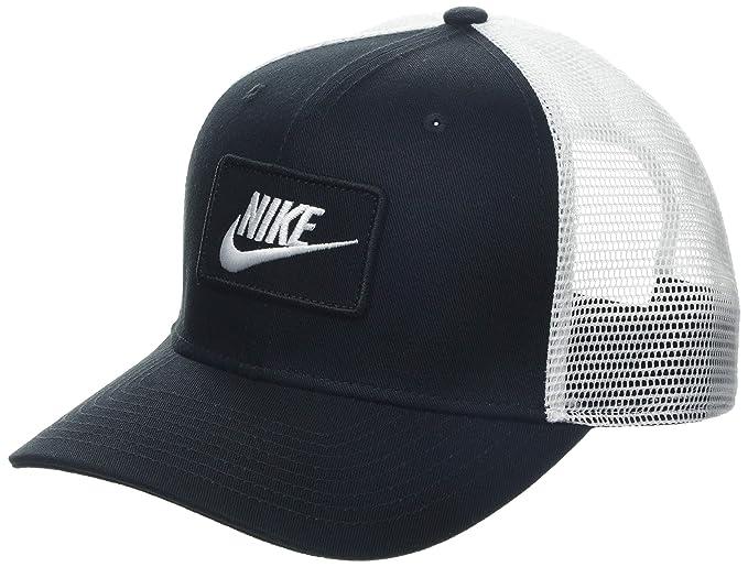 sconto più basso 100% qualità negozi popolari Nike Trucker, Berretto da Baseball Uomo, Nero (Black/White 010 ...