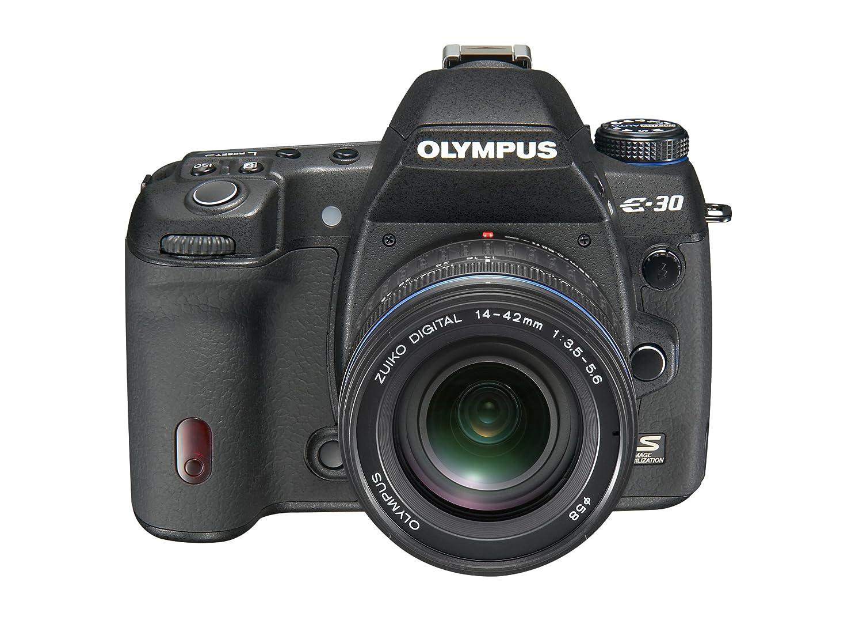Olympus E-30 - Cámara Réflex Digital 12.3 MP (Objetivo ED 14-42mm ...