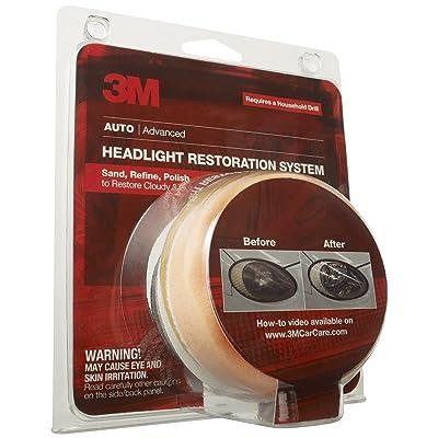 3M 39008 Headlight Lens Restoration System 2-Pack: Automotive