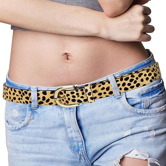 Amazon.com: POYOLEE - Cinturón de piel para pantalones ...