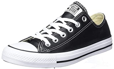 8c65d2a9636e Converse Chuck Taylor All Star Leather Low Top Sneaker Black 4.5 M US