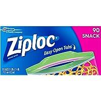 Ziploc Snack Bags, 90 Count
