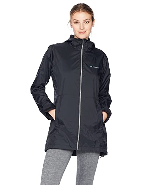 d4342259866f9 Columbia Switchback Chamarra Larga con Forro Impermeable para Mujer ...