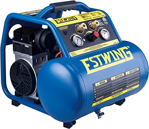 Estwing E5GCOMP 5 gallon Quiet High Pressure Oil-Free Compressor