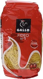 Pastas Gallo - Fideo 1 Paquete 500 g - [Pack de 9]