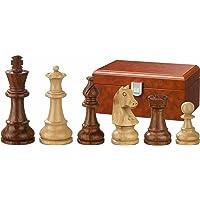 Philos 2062 - Schachfiguren Sigismund, Königshöhe 70 mm, gewichtet, in Figurenbox