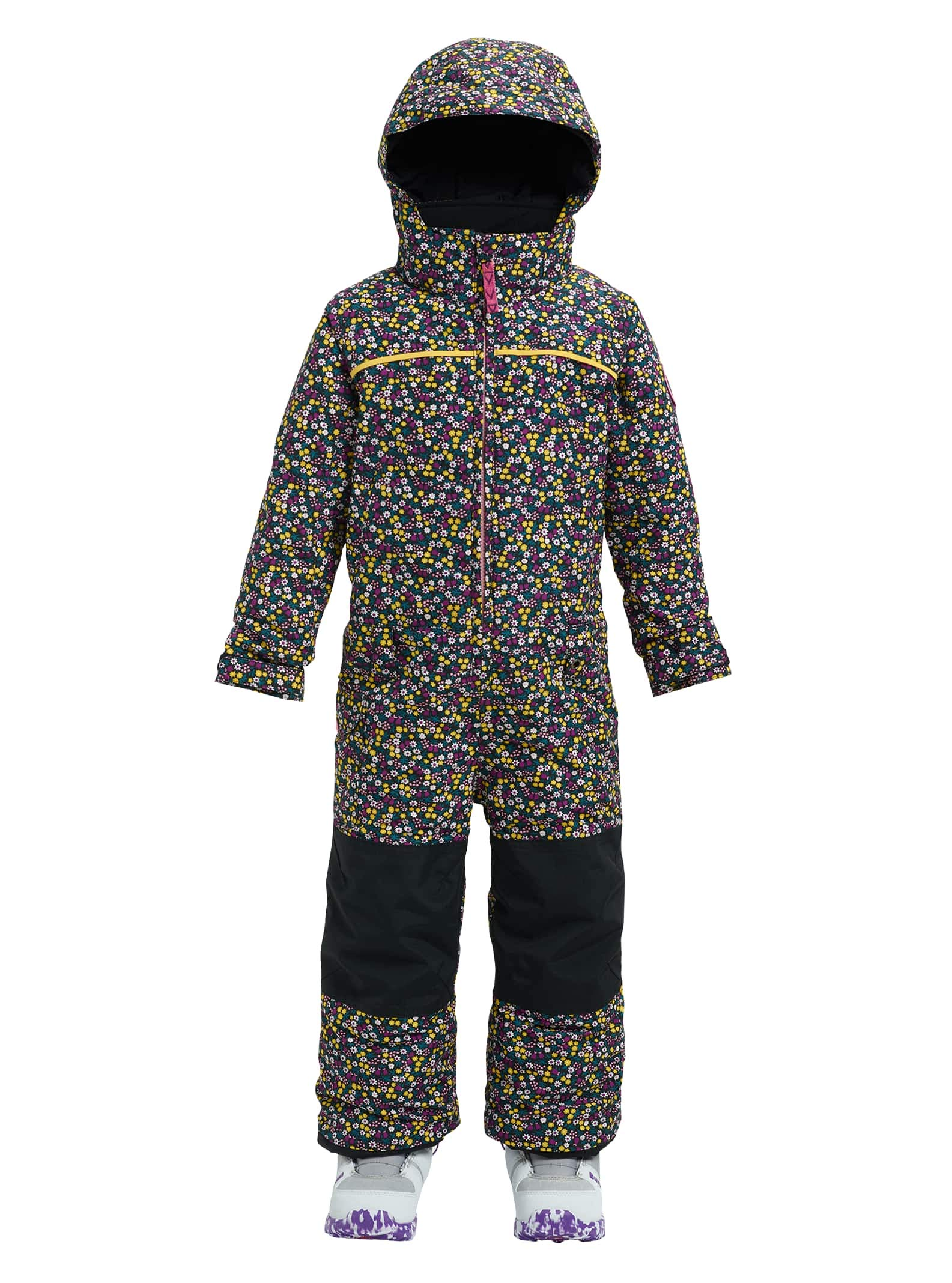 Burton Girls Minishred Illusion Onepiece, Forget Me Not, 7\8
