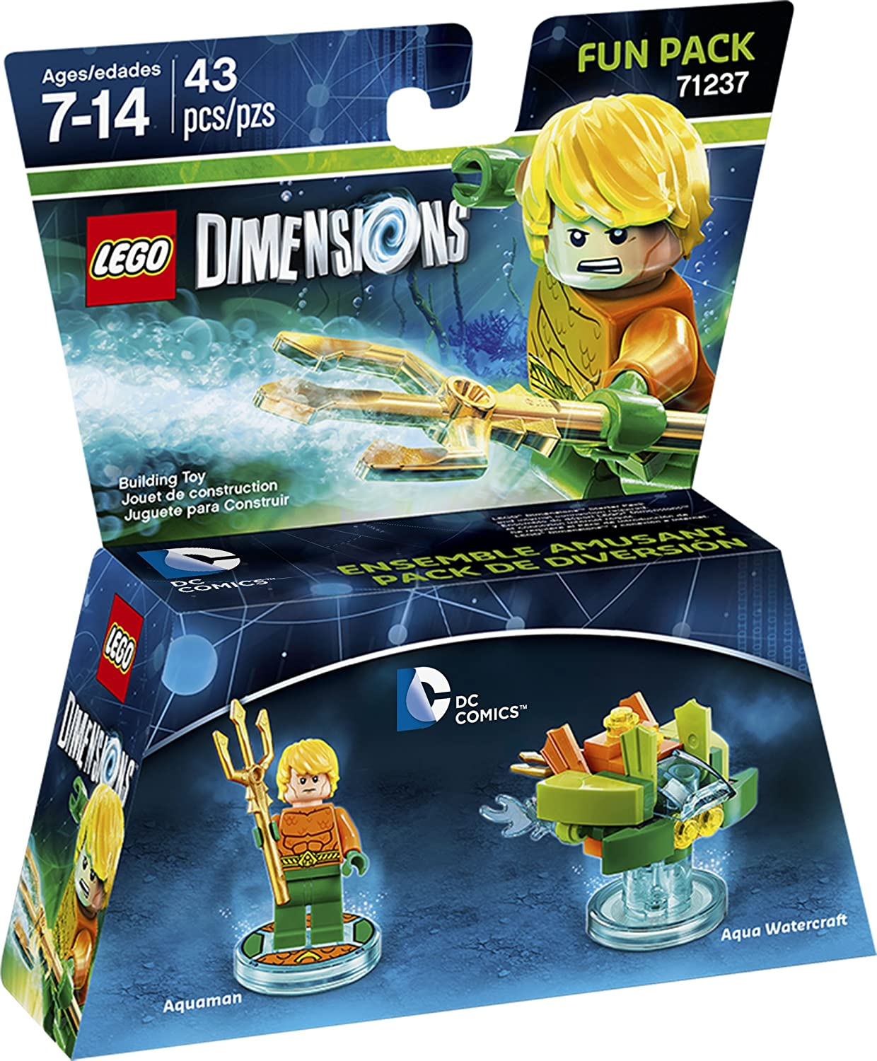 Lego Dimensions Dc Aquaman Fun Pack by Warner Bros Games: Amazon ...