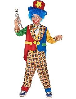 Disfraz de payaso niño - 4 - 6 años: Amazon.es: Juguetes y ...