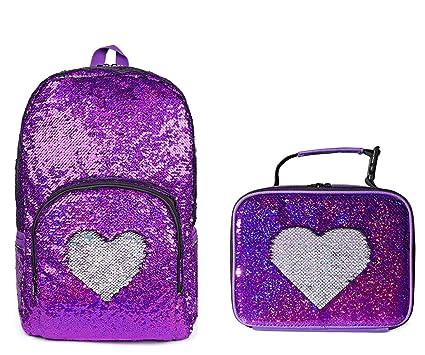 e1522144d50c8 Girls Magic Reversible Sequin School Backpack