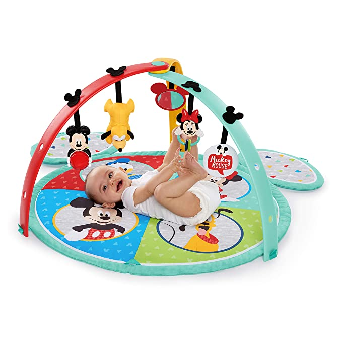 Disney Baby Mickey Mouse Easy Store Playmat, multicolor ...