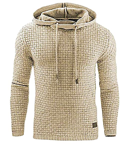 Minetom Hommes Sweat À Capuche Hooded Hoodies Mode Pull Veste Chaud Pullover Top Automne Hiver Sportif Casual Jacket Haut