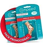 COMPEED Ampollas Medianas, 10 Apósitos Hidrocoloides - Pack de 2 (Total 20), Cuidado de Pies, Cura más rápido…