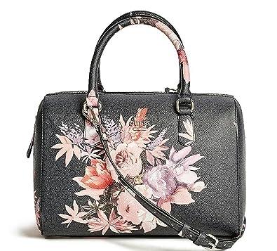 GUESS Women's Ashville Rose Floral Box Satchel
