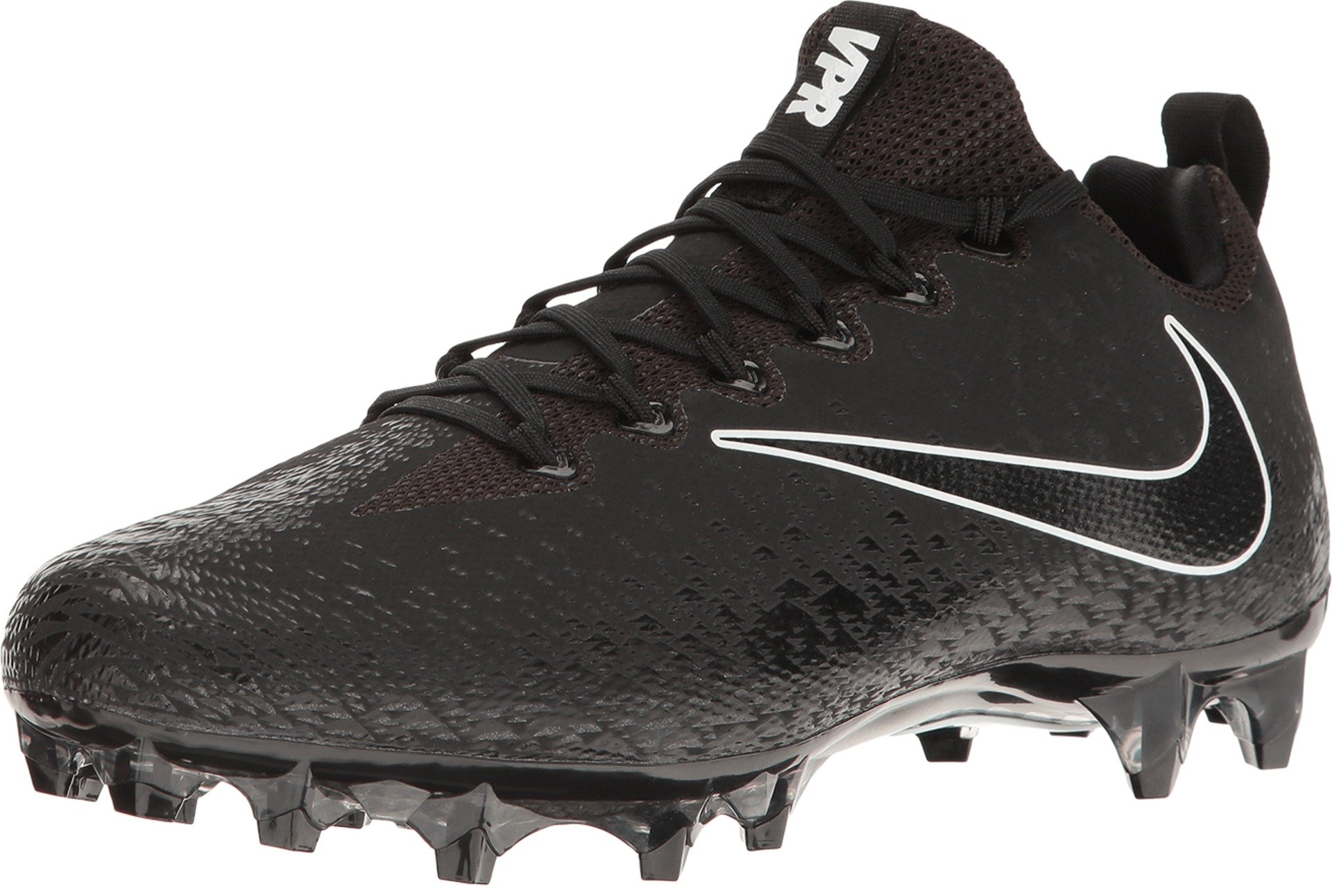 Nike Vapor Untouchable Pro Black/Black/Metallic Silver/White Men's Cleated Shoes