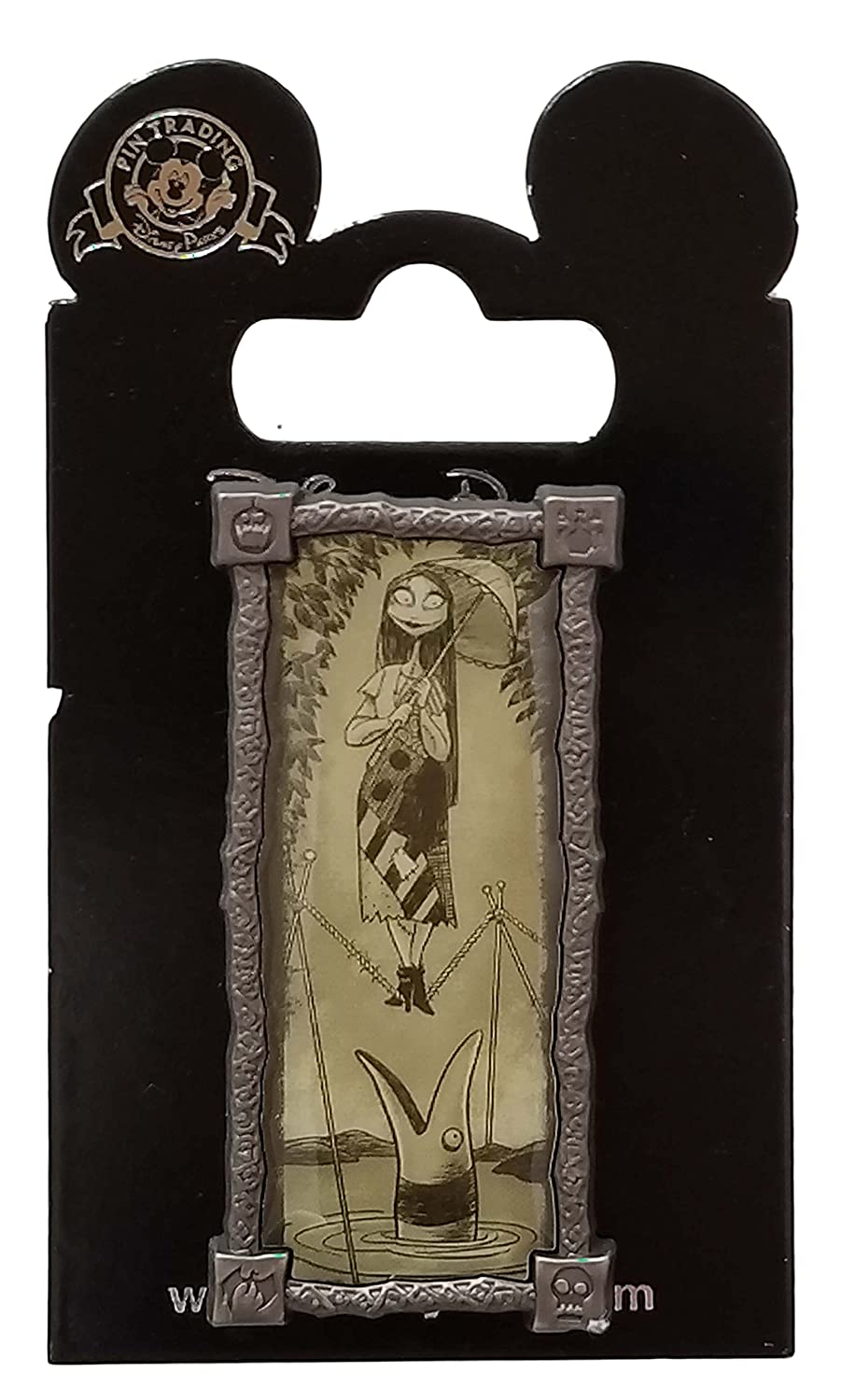 Disney Pin - Sally Haunted Mansion Stretching Portrait