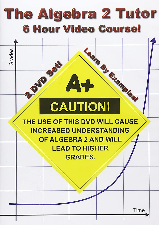 Amazon The Algebra 2 Tutor 6 Hour Course 2 Dvd Set Learn