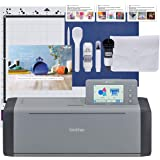 Brother ScanNCut SDX125EGY Electronic DIY Cutting Machine with Scanner, Make Custom Stickers, Vinyl Wall Art, Greeting Cards
