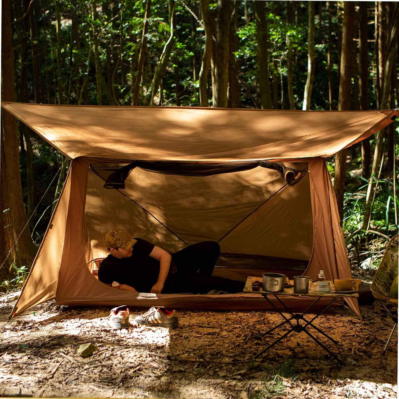 Senderismo Viaje y Camping OneTigris Refugio Tienda de campa/ña 4 Estaciones 1 Persona Tienda Ideal para Acampar Escalada