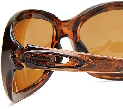 57bdaf9149 Amazon.com  Oakley Womens Urgency OO9158-02 Polarized Wrap Sunglasses
