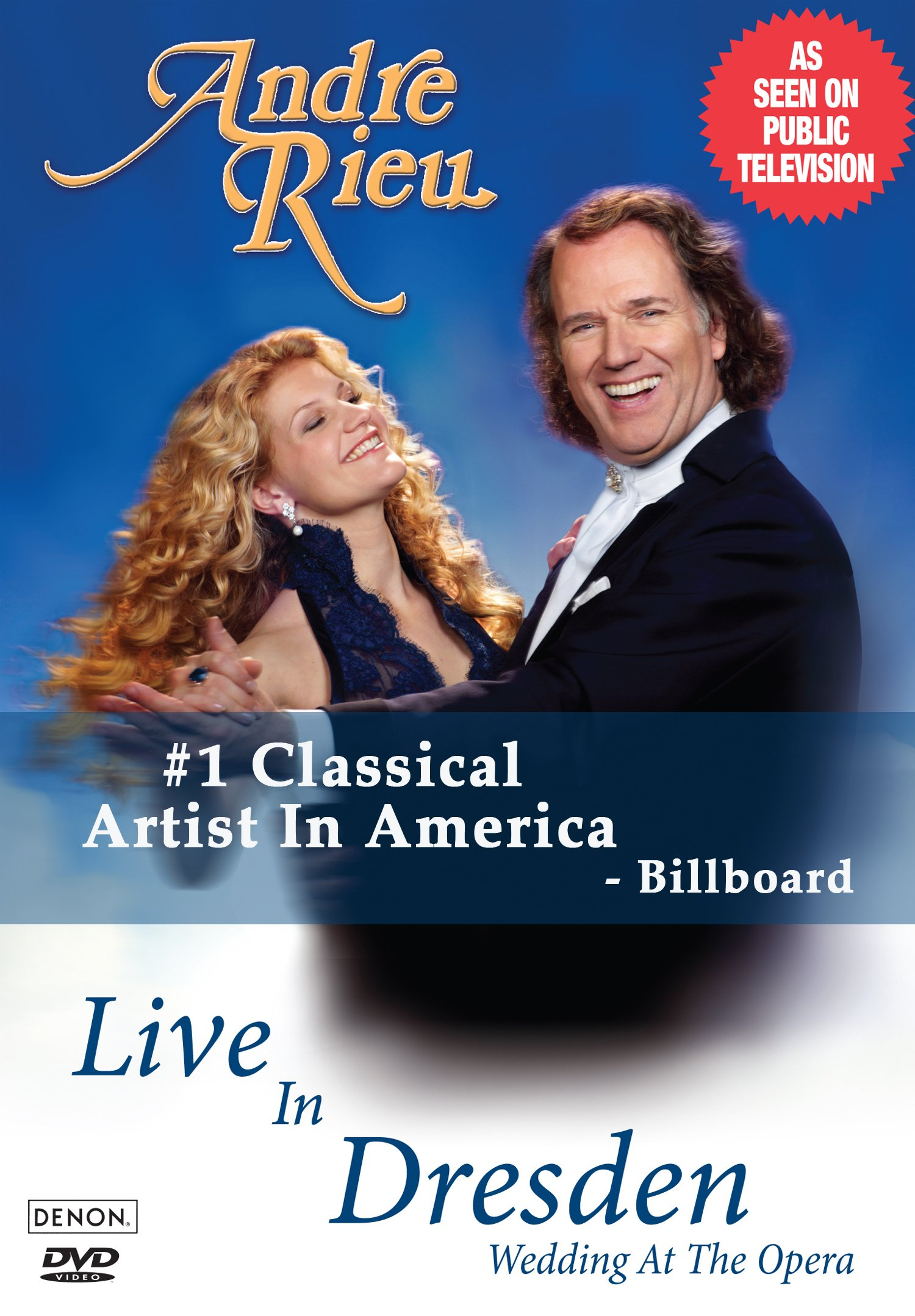 Andre Rieu - Live in Dresden: Wedding at the Opera (DVD)
