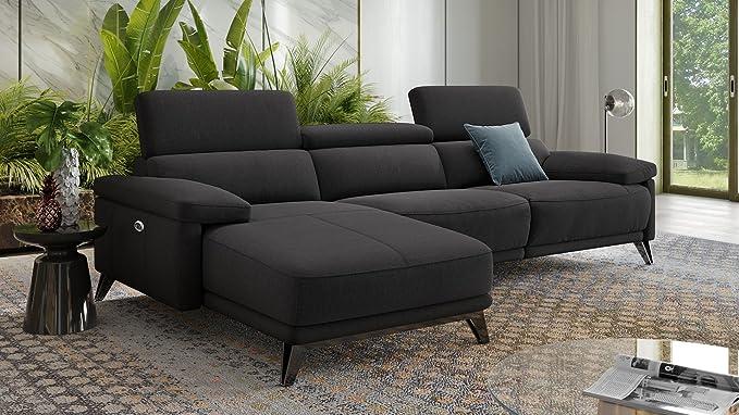 Sofá seccional sofá cama sofá de tela XXL polstergarnitur 2 ...